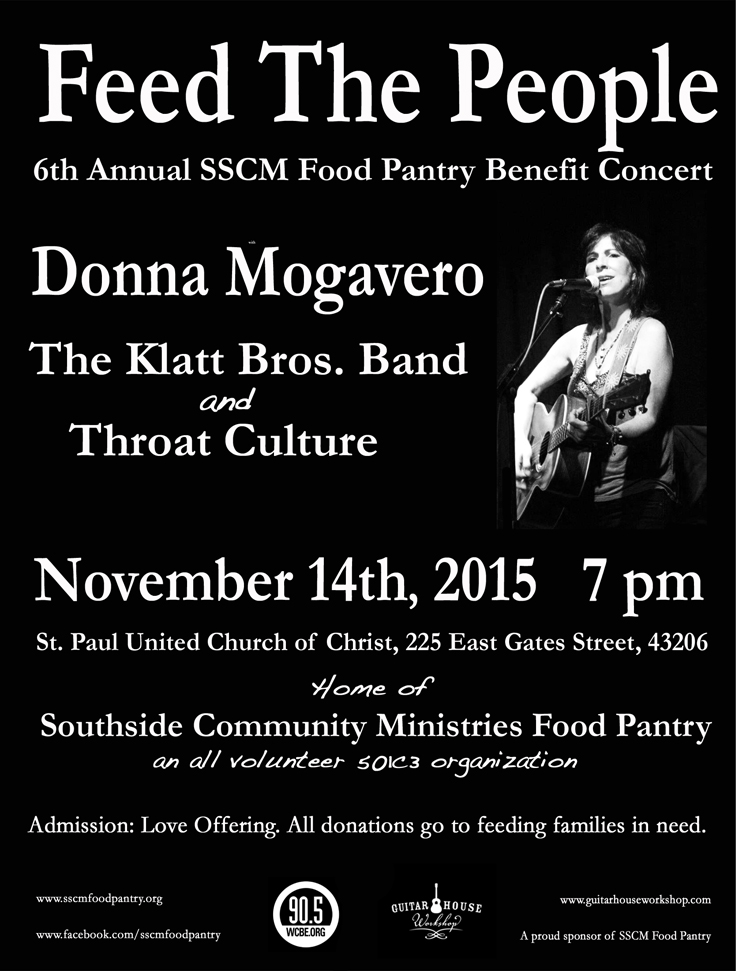 Feed the People Concert Benefits SSCM Pantry