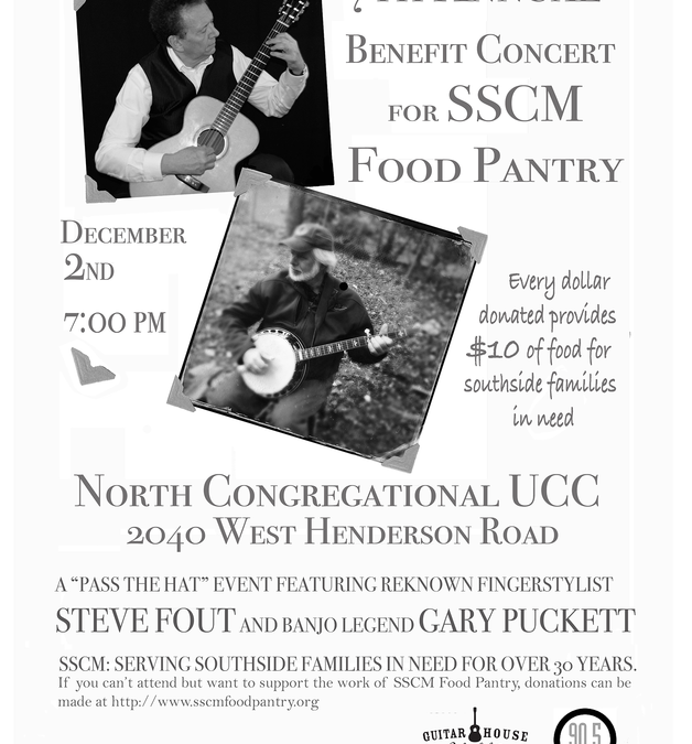 "7th Annual SSCM Food Pantry ""Feed the People Concert"""